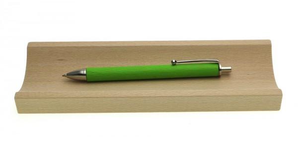 Kugelschreiber Allwood grün in Stifteschale Line.jpg