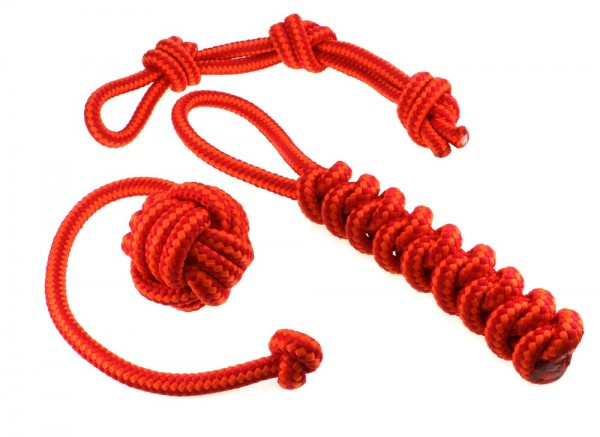 3er set Hundespielzeug Affenfaust Dummy Zugtau orange rot 10 mm.jpg