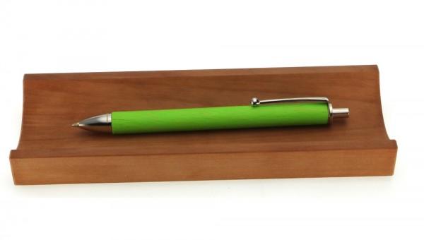 Kugelschreiber Allwood grün in Stifteschale Birne.jpg